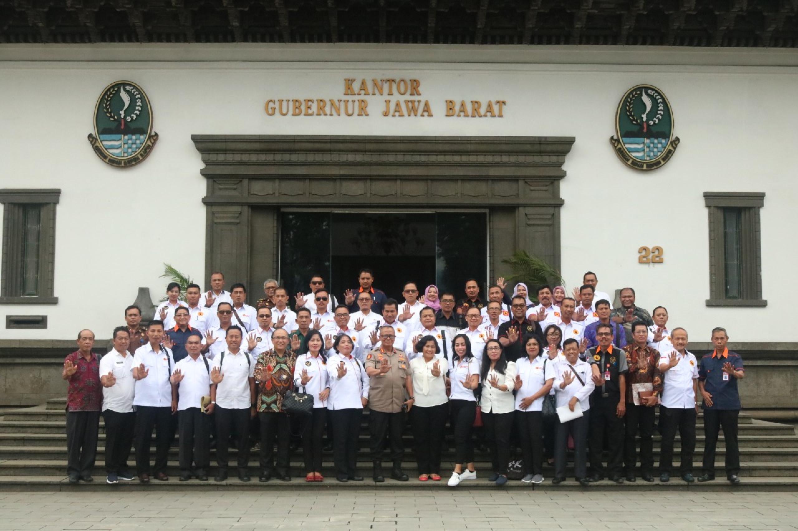 saberpungli jabar - Satgas Saberpungli Jabar Terima Kunjungan Kerja Dari UPP Prov Bali